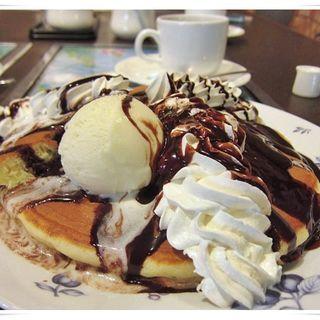 チョコホットケーキ(カフエドカレン )