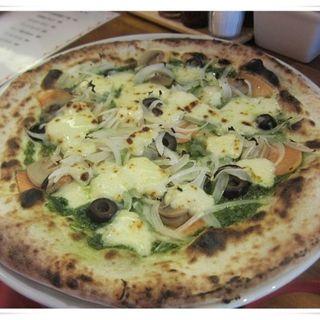 サーモンピッツァ(ピッツァオーラ (Pizza ora))