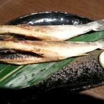 炭火焼氷下魚