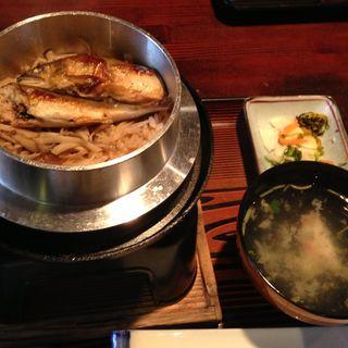 鮎釜飯(ことぶき家 )