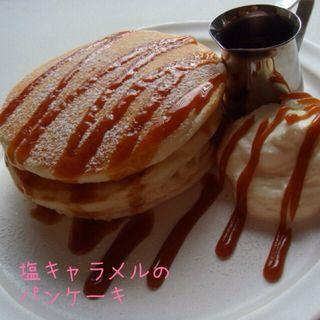 塩キャラメルパンケーキ(ももちどり)