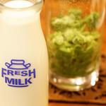 氷抹茶ミルク(コーヒーハウスケニア 道頓堀店 (ケニア))