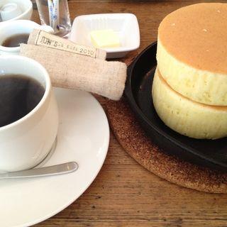 厚焼きパンケーキ(JUN's cafe)