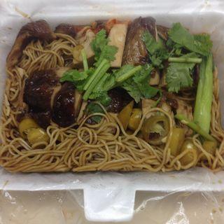 豉油鶏麺(劉記麺家)