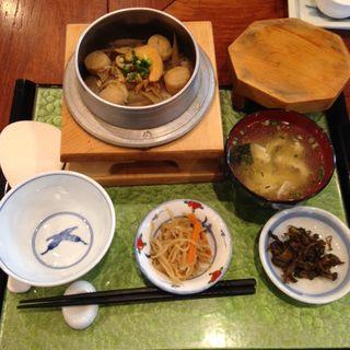 釜飯セット(ホタテ)(梅Q (うめきゅー))