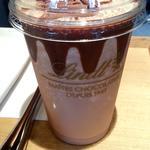 アイスチョコレートドリンク ミルク(リンツ ショコラ カフェ 表参道店)