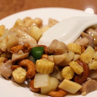 鶏肉とカシューナッツの炒め(大珍楼)
