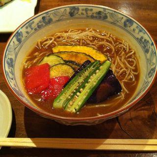 夏野菜 冷やし カレー蕎麦(そば処 とき (そば處 とき))