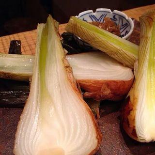 葉ネギのオーブン焼き(鎌倉ごはん海月)