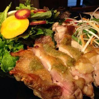 鶏モモ肉のゆずこしよう焼き(鎌倉ごはん海月)