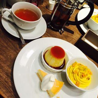 季節限定のケーキプレート(カフェ モロゾフ あべのand店 (Cafe Morozoff))
