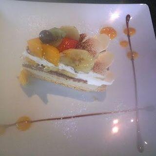 フルーツティラミスのタルト(カフェ・コムサ 新宿店 (Cafe comme ca))