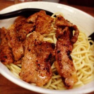 肉盛りつけ麺(豚そば家・大大)