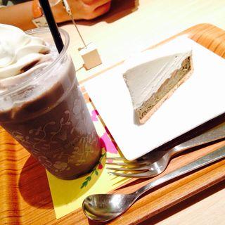 黒ごまソフトクリーム(ナナズ グリーンティー 阿倍野キューズモール店 (nana's green tea))