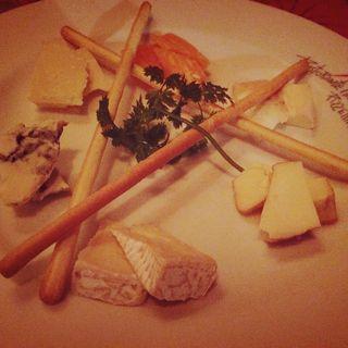 チーズ盛り合わせ(イルキャンティ代々木公園)