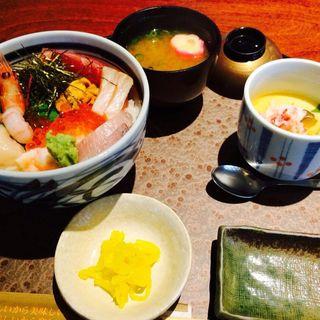 特選海鮮丼(北海道 大阪京橋店 )