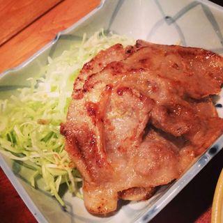 生姜焼き(ぼんぞう)