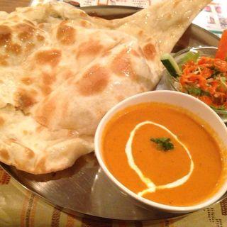 ランチAセット(ネパール&インド料理 SUZU)