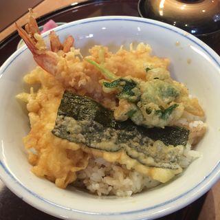 天丼(づぼらや新世界本店)
