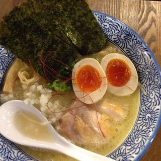 濃厚鶏白湯そば(武一とり食堂 )