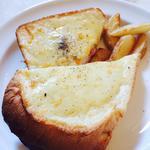 トリュフハムとグリュイエールチーズのクロックムッシュ