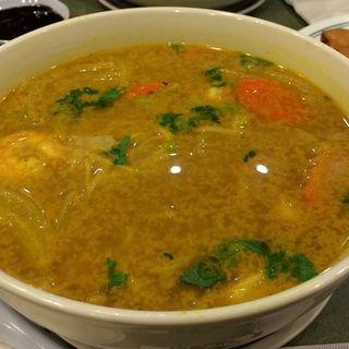 Shrimp curry pho soup(Pho Kitchen)