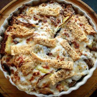油揚げと白菜のドリア(茶屋雨巻)