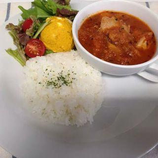 挽肉トマト煮(きりんカフェ)
