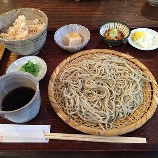 風庵定食 ざるそば(そば処 風庵 )