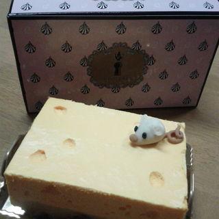 ネズミホールチーズケーキ(キューポット カフェ 本店 (Q-pot CAFE))