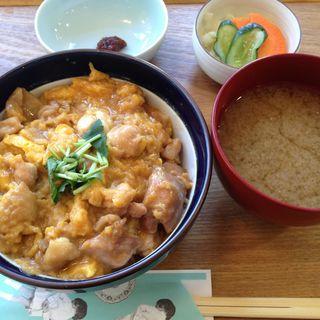 親子丼ランチセット(GLOU GLOU REEFUR (グルグル リーファー【旧店名】ロザリー))