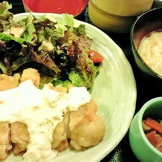 チキン南蛮タルタルソース定食(おごじょ家 東陽町店 (おごじょや))