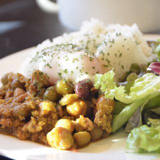 豆とひき肉のカレー(北口カフェ )