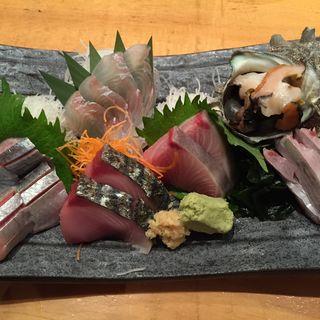 刺身盛り(二人前)(魚真 渋谷店 (うおしん))