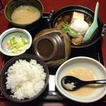 鶏すきやき定食(鳥元 市ヶ谷店 (とりげん))