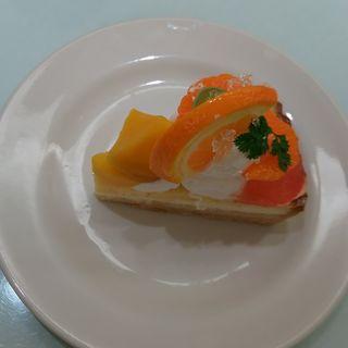 塩みかんとマンゴーのチーズタルト(サンデーブランチ 銀座店 (Sunday Brunch))