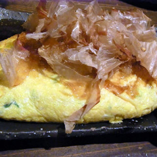 山芋オムレツ(おにかい)