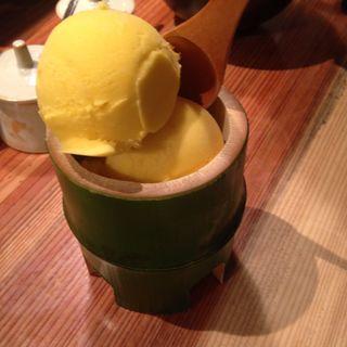 かぼちゃアイス(やまや コレド室町店 )