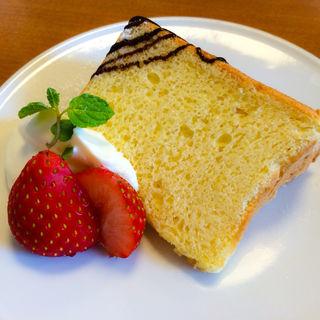 シフォンケーキ(カフェケイティー (CAFE KATY))