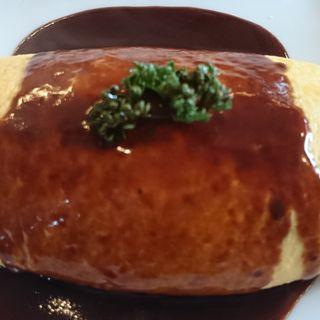 牛肉のオムライス-ガーリック風味-(たいめいけん )