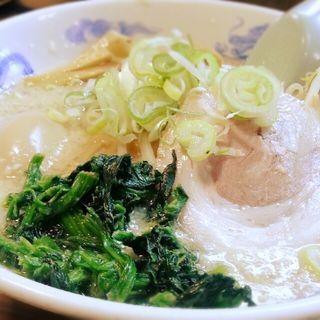 醤油ラーメン 細麺(麺屋亥龍 (いりゅう))