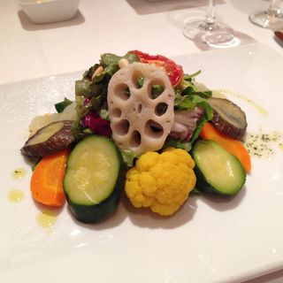 野菜のマリネサラダ(ミラキュルーズカフェ )