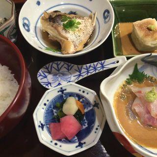 鯛茶漬け(徳うち山)