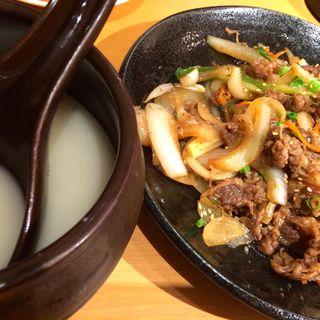 プルコギ(韓美膳 ラクーア店 (ハンビジェ))