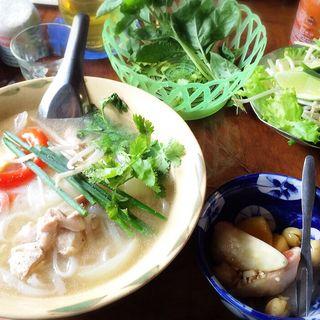 鶏のフォー(ハノイハノイ (HANOI&HANOI))