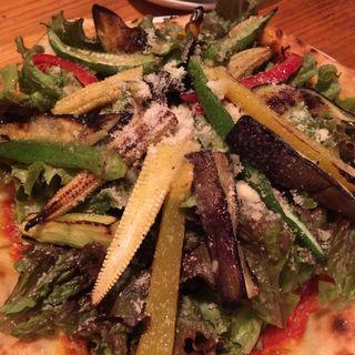焼き野菜のMIXピザ(おやさいバル TIERRA (ティエラ))