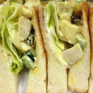 チキンサラダサンドイッチ(ホームワークス 広尾店 (Homework's))