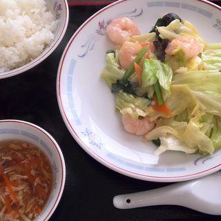 海老の季節野菜炒め(美食生 (ビショクショウ))