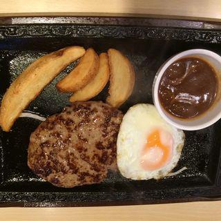 Hamburger Steak W(ステーキガスト 川崎野川店  )
