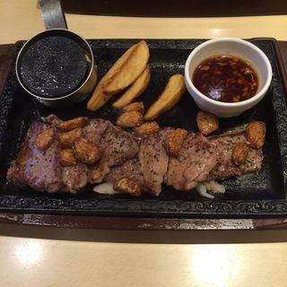 Garlic steak(ステーキガスト 川崎野川店  )